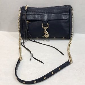 Rebecca Minkoff Crossbody Navy Leather Bag